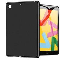 Hoes Case Kunststof Zacht TPU Waterproof voor iPad 10.2 inch - Zwart