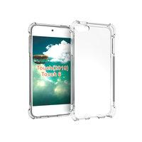Antislip Valbestendig TPU Hoes Case voor de iPod Touch 5 iPod Touch 6 iPod Touch 7 - Transparant
