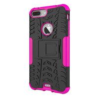 Shockproof bescherming hoesje iPhone 7 Plus 8 Plus case - Rose goud gold