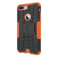 Shockproof bescherming hoesje iPhone 7 Plus 8 Plus case - Oranje