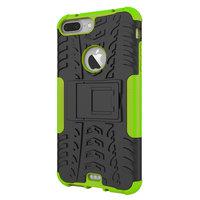 Shockproof bescherming hoesje iPhone 7 Plus 8 Plus case - Groen