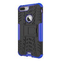 Shockproof bescherming hoesje iPhone 7 Plus 8 Plus case - Blauw