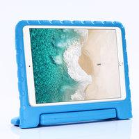 Kindvriendelijke Schokbestendige EVA-Hoes Handvat Standaard Niet Giftig voor iPad 10.2 iPad Air 3 10.5 iPad Pro 10.5 - Blauw