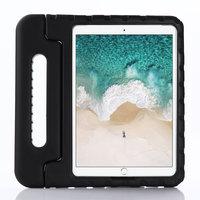 Kindvriendelijke Schokbestendige EVA-Hoes Handvat Standaard Niet Giftig voor iPad 10.2 iPad Air 3 10.5 iPad Pro 10.5 - Zwart