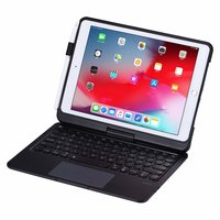 Draaibare Bluetooth Keyboard case iPad 10.2 inch - QWERTY 7 kleuren