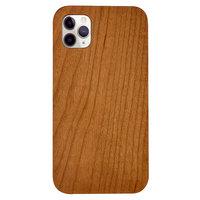 Kersenhout iPhone 11 Pro Max hoesje - Echt hout Natuur