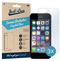Just in Case Screenprotector iPhone 5 5s SE 2016 - 3 screeprotectors