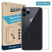 Just in Case Back Cover Tempered Glassprotector iPhone 11 Pro Max - 9H hardheid