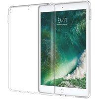 Just in Case Flexibele beschermende hoes iPad 9.7 inch 2017 2018 - Transparant