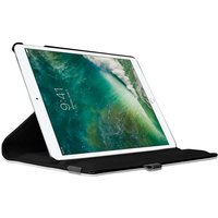 Just in Case Lederen Draaibare 360 graden iPad Pro 10.5 inch 2017 Case Hoes - Zwart