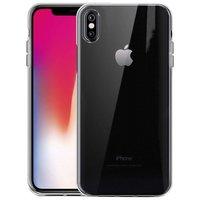 Just in Case Flexibele beschermende hoes iPhone X XS - Transparant