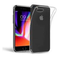 Just in Case Flexibele beschermende hoes iPhone 7 8 SE 2020 - Transparant