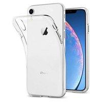 Just in Case Hoesje Flexibel TPU iPhone XR - Transparant