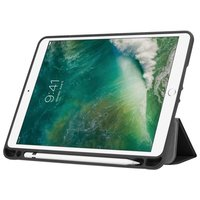 Just in Case Lederen Smart Tri-Fold iPad 9.7 inch 2017 2018 Hoes - Apple Pencil Compartiment