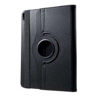 Just in Case Lederen 360 graden Draaibare Cover iPad Pro 11 inch 2018 Hoes Case - Zwart Bescherming