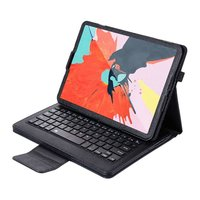 Just in Case Bluetooth Keyboard cover iPad Pro 11 2018 case - Zwart QWERTY