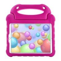 Just in Case EVA iPad 10.2 inch Hoes Case - Roze Schokabsorberend Kindvriendelijk