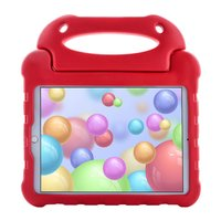 Just in Case EVA iPad 10.2 inch Hoes Case - Rood Schokabsorberend Kindvriendelijk