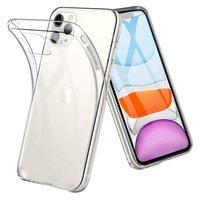 Just in Case Flexibel beschermend hoesje iPhone 11 TPU clear case - Doorzichtig