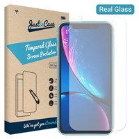 Just in Case Tempered Glassprotector Apple iPhone XR - 9H hardheid