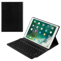 Just in Case Apple iPad Air 3 10.5 2019 Hoes QWERTY Bluetooth Keyboard Cover - Zwart