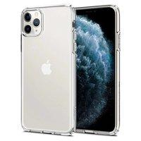 Spigen Liquid Crystal TPU Polycarbonaat iPhone 11 Pro Max Case Hoesje - Doorzichtig