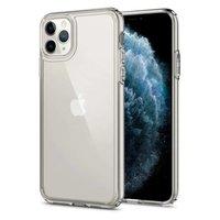 Spigen Ultra Hybrid TPU Polycarbonaat iPhone 11 Pro Max Case - Transparant Doorzichtig