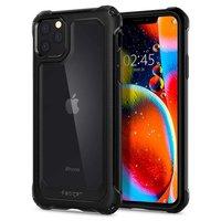 Spigen Gauntlet Hybride TPU Kunststof iPhone 11 Pro Hoesje - Zwart Bescherming