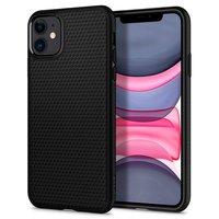Spigen Liquid Air TPU iPhone 11 Case - Zwart