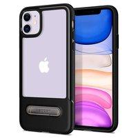 Spigen Slim Armor Essential TPU Polycarbonaat iPhone 11 Case - Zwart