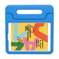 Just in Case Kids Case Ultra EVA iPad 10.2 inch Hoes - Blauw Kindvriendelijk