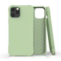 Soft case TPU hoesje voor iPhone 12 en iPhone 12 Pro - groen
