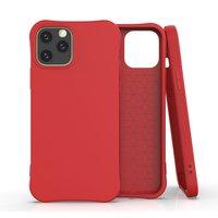 Soft case TPU hoesje voor iPhone 12 en iPhone 12 Pro - rood