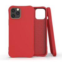 Soft case TPU hoesje voor iPhone 12 Pro Max - rood
