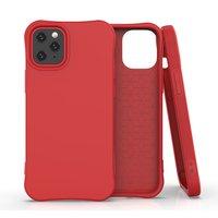 Soft case TPU hoesje voor iPhone 12 mini - rood