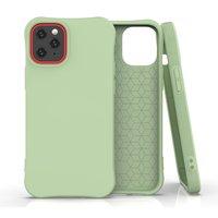 Soft case TPU hoesje voor iPhone 12 mini - groen