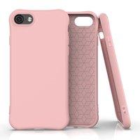 Soft case TPU hoesje voor iPhone 7, iPhone 8 en iPhone SE 2020 - roze