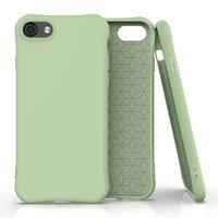 Soft case TPU hoesje voor iPhone 7, iPhone 8 en iPhone SE 2020 - groen