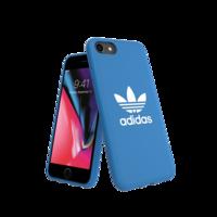 adidas Originals kunststof hoesje voor iPhone 6, 6s, 7, 8 en SE 2020 - blauw met wit