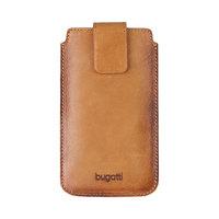 Bugatti Francoforte Universele hoes voor de iPhone - Cognac Bescherming
