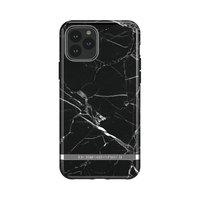 Richmond & Finch Black Marble stevig kunststof hoesje voor iPhone 11 Pro - zwart
