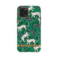 Richmond & Finch Green Leopards stevig kunststof hoesje voor iPhone 11 Pro - groen