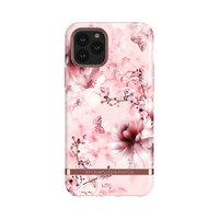 Richmond & Finch Pink Marble bloemen stevig kunststof hoesje voor iPhone 11 Pro - roze