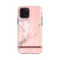 Richmond & Finch Pink Marble stevig kunststof hoesje voor iPhone 11 - roze