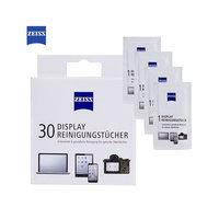 Zeiss Scherm Reiniginsdoekjes - 30 stuks Wit