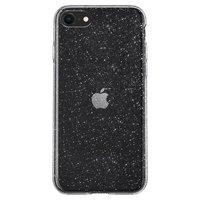 Spigen Liquid Crystal hoesje voor iPhone 7, iPhone 8 en iPhone SE 2020 - transparant glitters