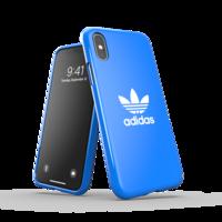 adidas Originals kunststof hoesje voor iPhone X en iPhone XS - blauw