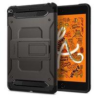 Spigen Tough Armor kunststof carbon met Air Cushion Technology hoesje voor iPad mini 5 - zwart
