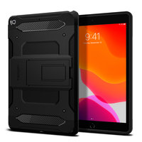 Spigen Tough Armor carbon met Air Cushion Technology hoesje voor iPad 10.2 inch (2020) - zwart