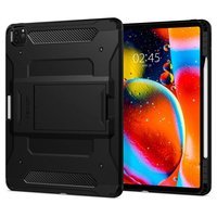 Spigen Tough Armor kunststof carbon Air Cushion hoesje voor iPad Pro 11 inch (2020) - zwart